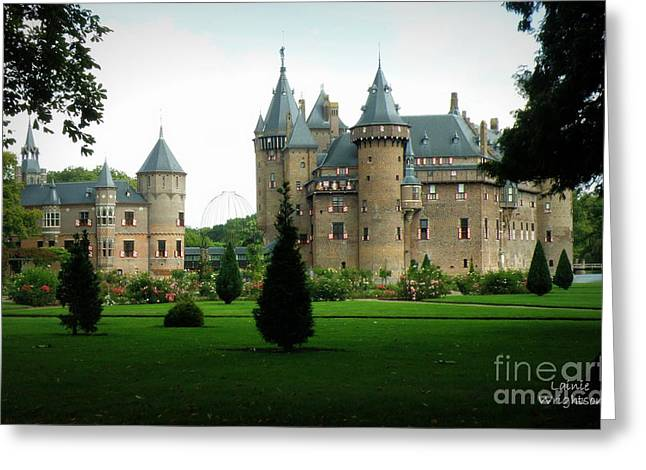 Haar Castle Greeting Card by Lainie Wrightson