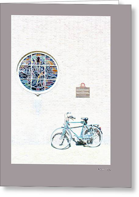 Xoanxo Cespon Greeting Cards - Haarlem bike 3 Greeting Card by Xoanxo Cespon