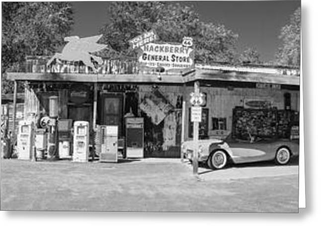 Hackberry Greeting Cards - Hackberry general store Greeting Card by Chris Bordeleau