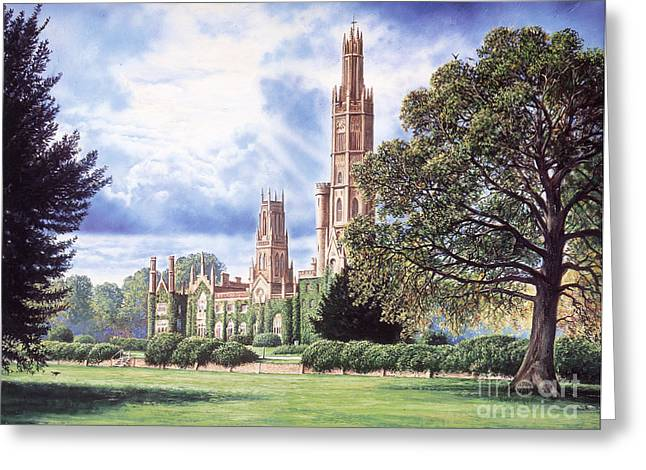 Crisp Greeting Cards - Hadlow Tower Greeting Card by Steve Crisp