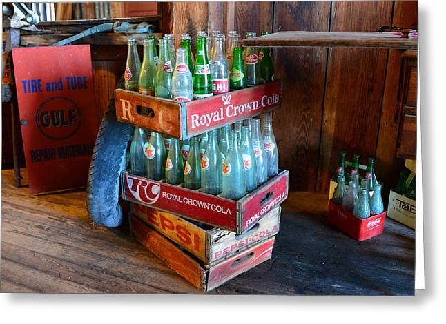 Fine Bottle Greeting Cards - Stacked up Greeting Card by David Lee Thompson