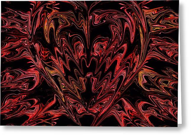 Divorce Greeting Cards - Haemorrhage  Greeting Card by Anthony Bean