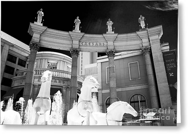 Popular Images Greeting Cards - Hail Caesars Greeting Card by John Rizzuto