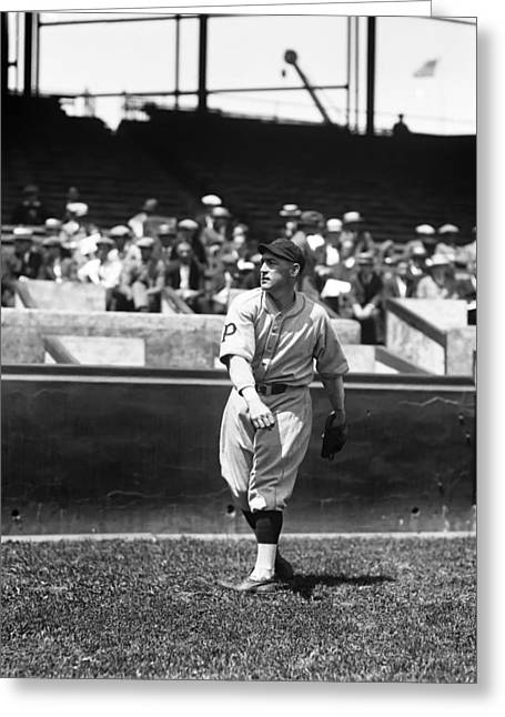 Pittsburgh Pirates Photographs Greeting Cards - Hal Rhyne Greeting Card by Retro Images Archive