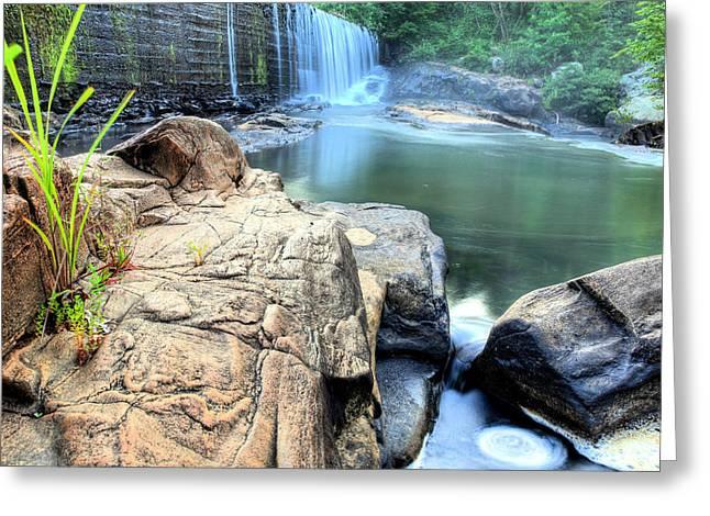 Halawaka Creek Greeting Card by JC Findley