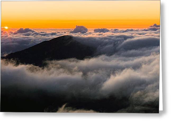 Photogaph Greeting Cards - Haleakala  A006606-08-4a Greeting Card by Frank Wicker