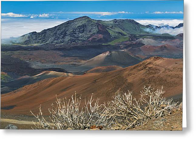 Photogaph Greeting Cards - Haleakala  A00701-02-03-06-2 Greeting Card by Frank Wicker