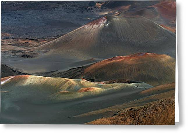 Photogaph Greeting Cards - Haleakala  A012758-59-60-2b Greeting Card by Frank Wicker