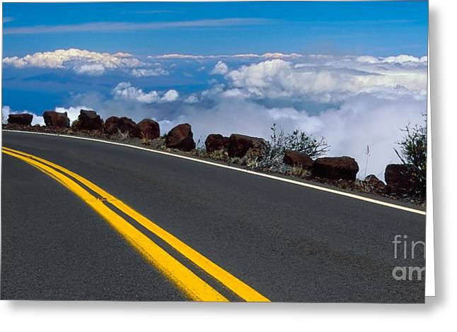 Photogaph Greeting Cards - Haleakala  Hnp0070-2b Greeting Card by Frank Wicker