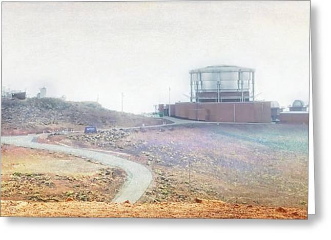 Google Digital Greeting Cards - Haleakala Observatories Greeting Card by Paulette B Wright