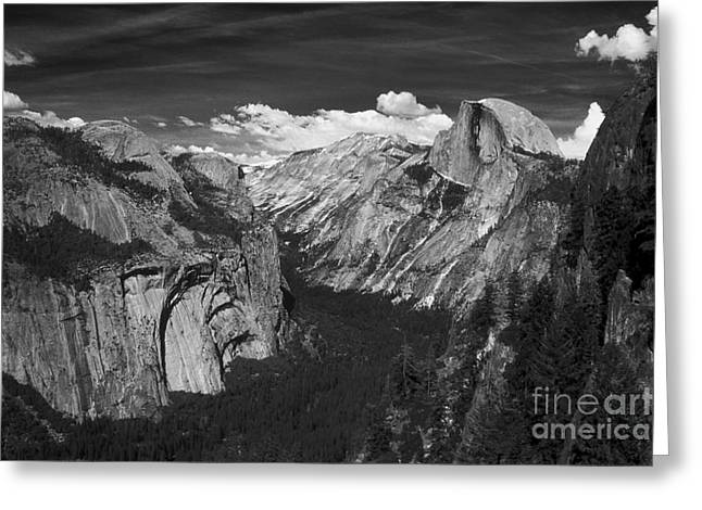 Monolith Greeting Cards - Half Dome 4 Greeting Card by Paul W Faust -  Impressions of Light