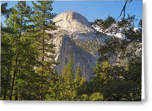 Half Dome Yosemite Greeting Card by Jane Rix