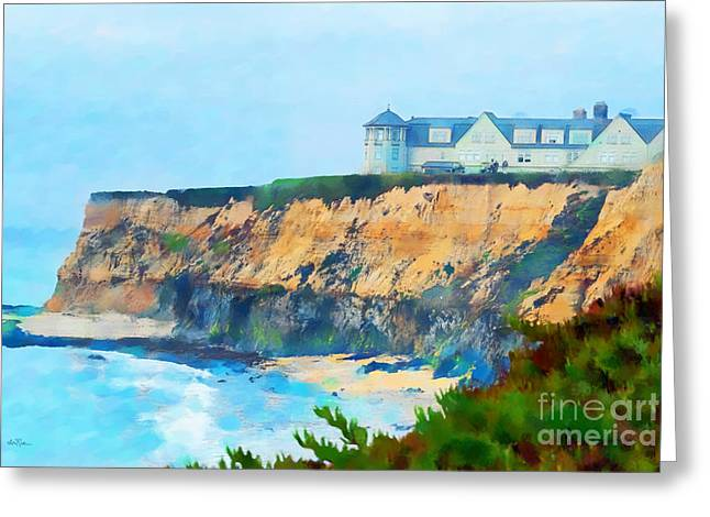 Foggy Day Greeting Cards - Half Moon Bay 2 Greeting Card by Betty LaRue