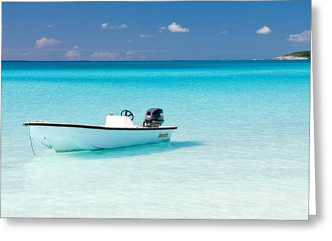 Half Moon Cay Greeting Cards - Half Moon Cay Greeting Card by CJ Middendorf