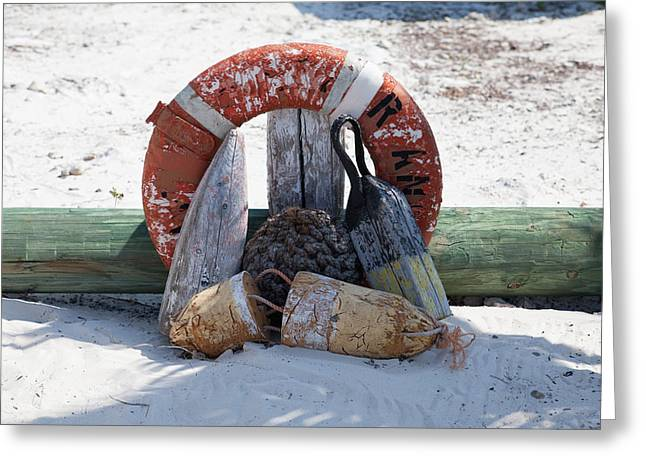 Half Moon Cay Greeting Cards - Half Moon Cay Odds and Ends Greeting Card by Christopher McCartin