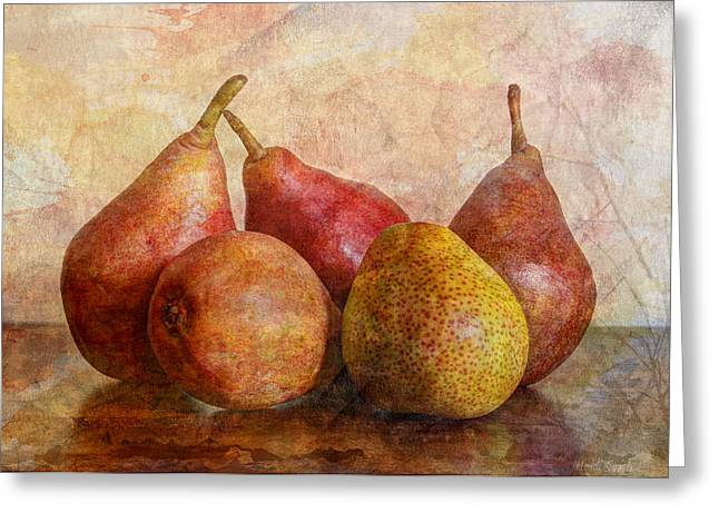 Apple Art Photographs Greeting Cards - Half Of Ten Greeting Card by Heidi Smith