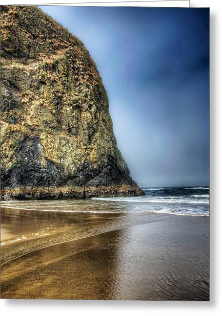 Half Stack Greeting Card by Spencer McDonald