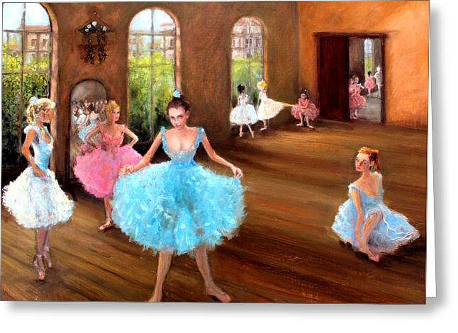 Plaster Of Paris Greeting Cards - Hall of Dance Greeting Card by Graham Keith