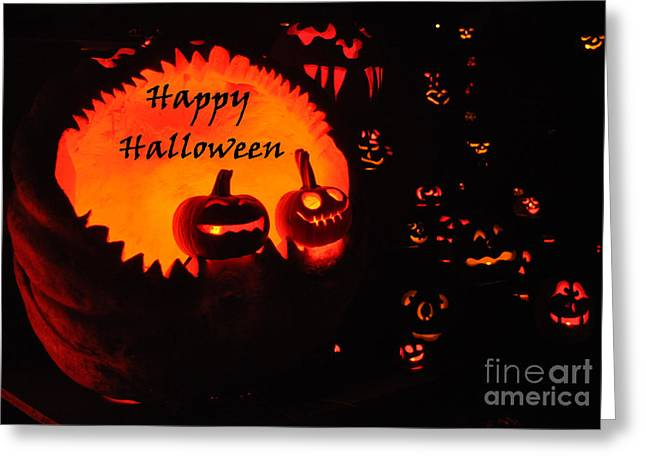 Special Occasion Greeting Cards - Halloween Card No. 1 Greeting Card by Luke Moore