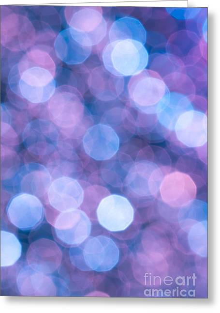 Vivid Colour Greeting Cards - Hallucination Greeting Card by Jan Bickerton