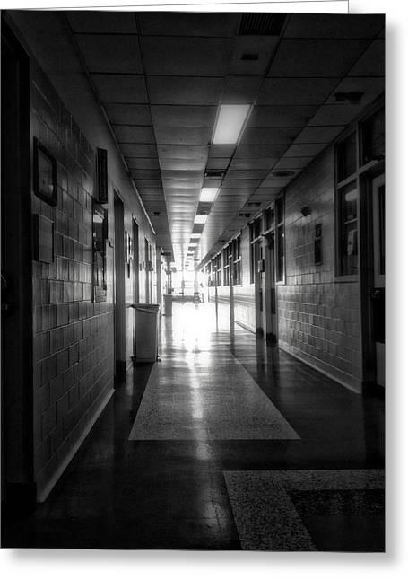 Hallway Greeting Card by H James Hoff