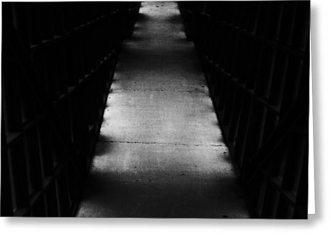 Hallway to Nowhere Greeting Card by Christi Kraft