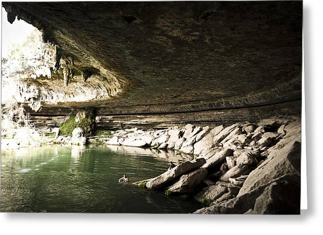 Hamilton Pool Texas Greeting Cards - Hamilton Pool Greeting Card by Heather Grow