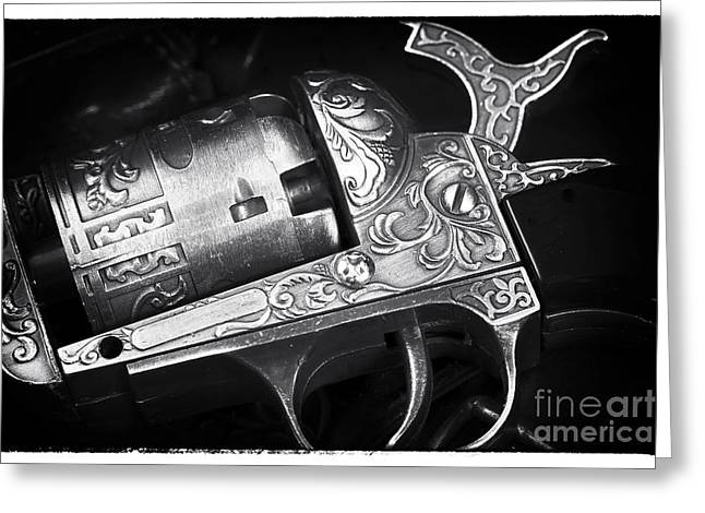 Contemporary Western Fine Art Greeting Cards - Hammer Greeting Card by John Rizzuto