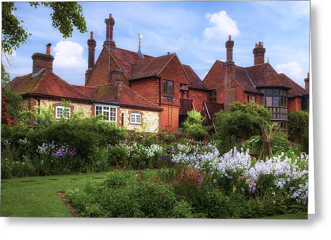 House Garden Greeting Cards - Hampshire Greeting Card by Joana Kruse