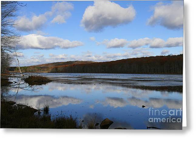Landscape Photos Greeting Cards - Hampton Blues   Greeting Card by Neal  Eslinger