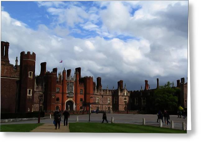 Hampton Court Greeting Card by Jenny Armitage