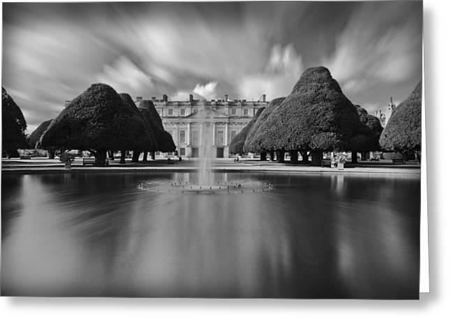 Hampton Court Greeting Cards - Hampton Court Palace Greeting Card by Maj Seda