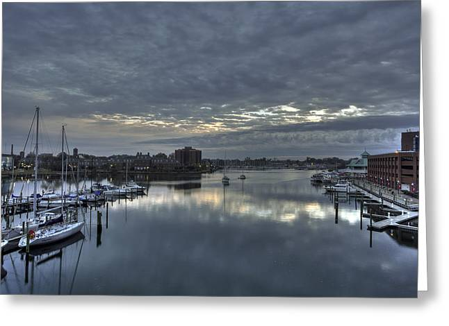 Booker T. Washington Greeting Cards - Hampton Harbor Greeting Card by Jerry Gammon