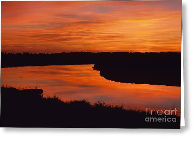 Hampton Marsh - Hampton New Hampshire Usa Greeting Card by Erin Paul Donovan