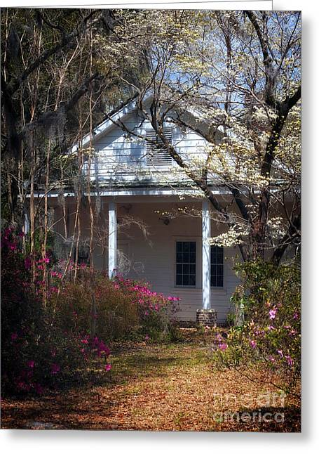 Hamptons Photographs Greeting Cards - Hampton Slave Quarters Greeting Card by John Rizzuto