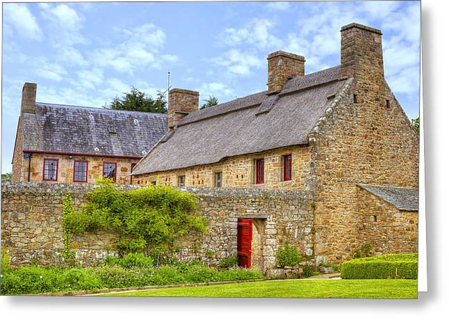Open Air Greeting Cards - Hamptonne Country Life Museum - Jersey Greeting Card by Joana Kruse