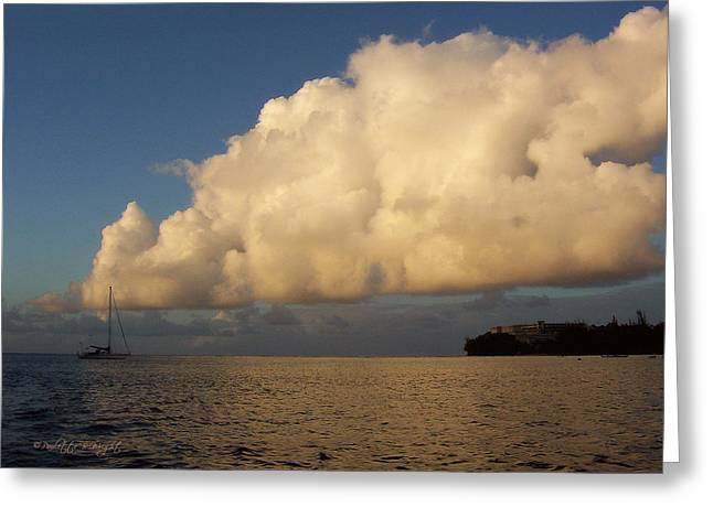 Top Seller Greeting Cards - Hanalei Bay At Dusk Greeting Card by Paulette B Wright