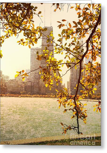 Branch Avenue Greeting Cards - Hancock in Fall Greeting Card by Margie Hurwich