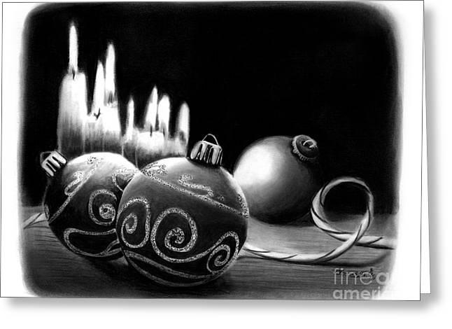 Pencil Greeting Cards - Handmade Ornaments     Greeting Card by Peter Piatt
