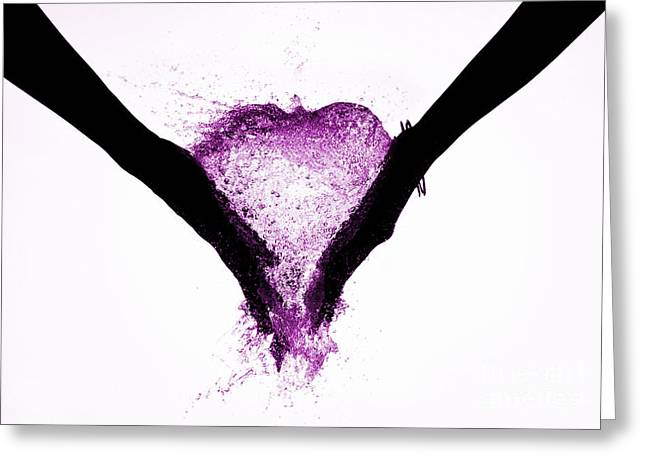 Soulmate Greeting Cards - Hands of Love Greeting Card by Tim Gainey