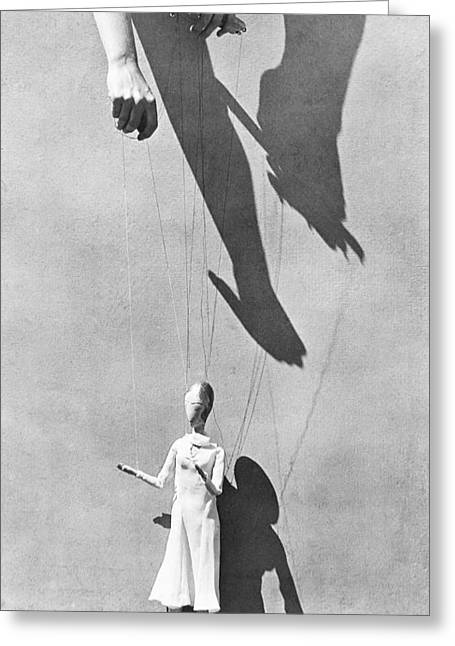 Free Will Greeting Cards - Hands Of The Puppeteer, 1929 Greeting Card by Tina Modotti