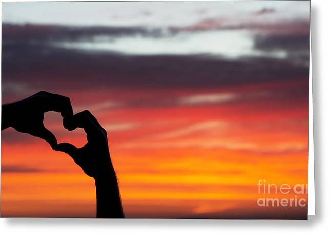 Heartfelt Greeting Cards - Hands that Help Greeting Card by Tim Gainey