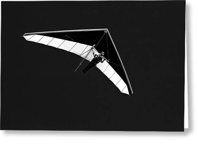 Hang Glider Greeting Card by Mountain Dreams
