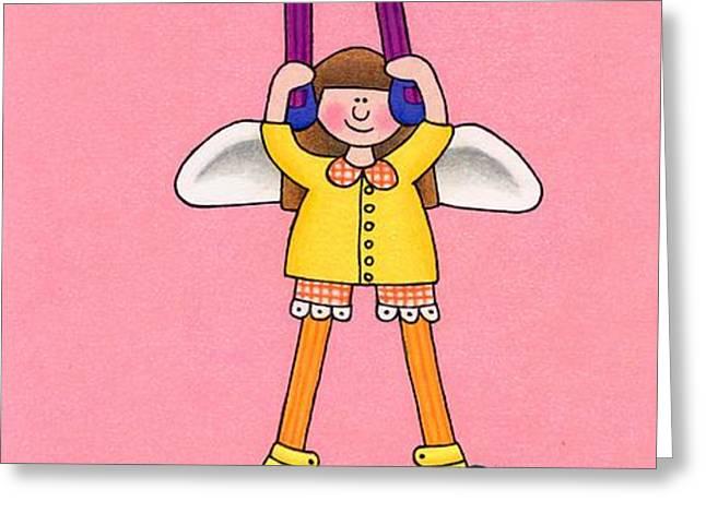 Hang In There Greeting Card by Sarah Batalka