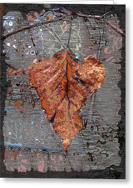 Jagged Border Greeting Cards - Hangin In There Greeting Card by Tim Allen