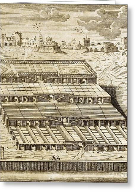 Babylon Greeting Cards - Hanging Gardens Of Babylon, 1679 Artwork Greeting Card by Asian And Middle Eastern Division