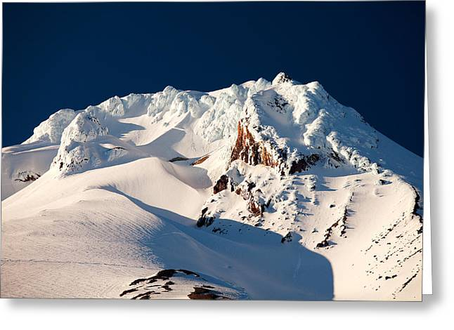 Mount Hood Oregon Greeting Cards - Hanging on Hood Greeting Card by Darren  White
