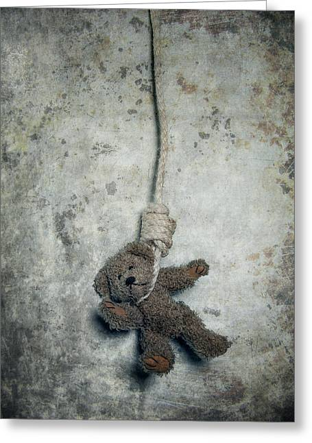 Suicide Greeting Cards - Hanging On The Gallows Greeting Card by Joana Kruse