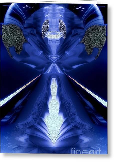 Archangel Haniel Greeting Cards - Haniel Greeting Card by Raymel Garcia