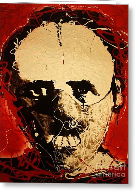 Michael Kulick Greeting Cards - Hannibal Lecter Greeting Card by Michael Kulick
